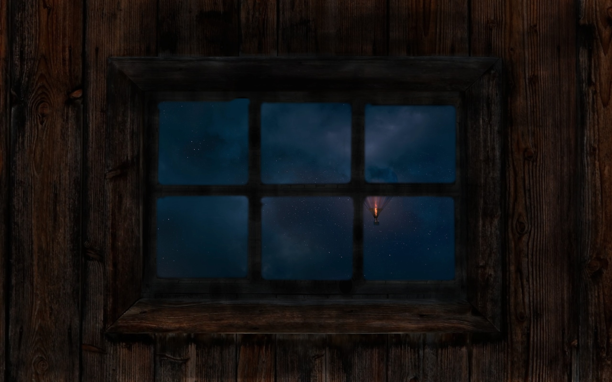 Night Sky Window